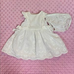 Baby B'gosh dress with bloomers 0-3 months